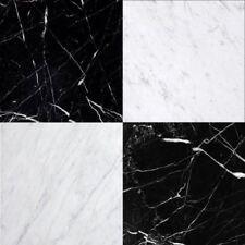 CHESS EFFECT NERO & CARRARA MARBLE Wall & Floor Tiles Sample