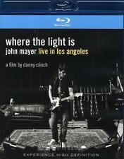"JOHN MAYER ""WHERE THE LIGHT IS LIVE IN..."" BLU RAY NEW+"