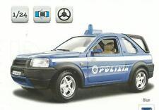 BURAGO 1:24 AUTO MONTATA SECURITY TEAM  FREELANDER POLIZIA   ART 18-24000