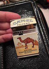 VINTAGE CAMEL Filters Flip Top Cigarette Lighter  BUTANE LIGHTER