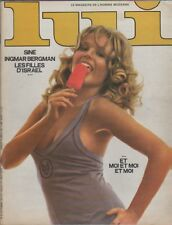 """""""LUI n°92 septembre 1971"""" PIN UP et ESQUIMEAU par Christa PETERS"""