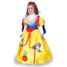 Vestito Costume Biancaneve 4/5 anni Carnevale Pegasus Party