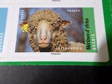 FRANCE 2017, timbre AUTOCOLLANT ANIMAUX ELEVAGE BREBIS, EWE, neuf**, VF MNH