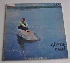 GINETTE RAVEL self titled LP Record