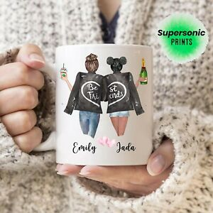 Best Friend Personalised Any Name Mug High Quality Any your quote