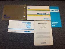 1976 Mazda 808 Owner Owner's Operator User Guide Manual Book Set 1300 1.3L