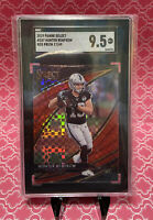 2019 Panini Select /49 Hunter Renfrow RED PRIZM RC SGC 9.5 Comp PSA Field Level