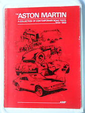 ASTON MARTIN A COLLECTION OF ROAD TESTS 1948 - 1959 2 LITRE DB1 DB2 DB2/4 DB3 DH
