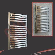"600mm(w) x 800mm(h) ""Ellipse"" Chrome Heated Towel Rail Radiator Warmer 2227 BTUs"