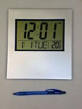 LCD ELETTRONICO muro scrivania orologio tempo ALLARME TEMPERATURA UFFICIO SCUOLA Hall digitale