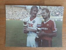 kaart AMSTERDAM TOURNAMENT 1983 AFC AJAX MANCHESTER UNITED OLYMPIC STADIUM