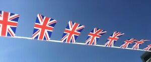 Union Jack Fabric Bunting - Olympics - Free First Class Postage!