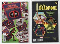 You Are Deadpool Issue #5 Marvel Comics Regular & Variant (5/30/18 1st Print)