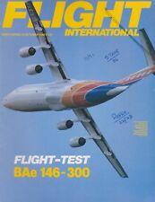 Flight International Magazine (22 Oct 1988) (BAe 146-300, RSAF, IL-96-300)