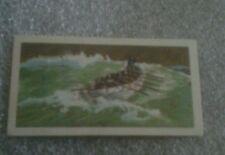 BROOKE BOND TEA CARD THE SAGA OF SHIPS GREATHEAD'S LIFEBOAT NO. 19