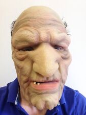 Old Man Bald Head Mask Latex Bad Grandpa Grandad Fancy Dress Stag Party