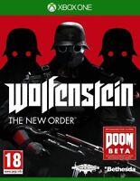 Wolfenstein: The New Order (Microsoft Xbox One, 2014)