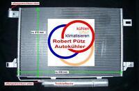 Klimakondensator Kondensator mit Trockner Mercedes, W169 A Klasse, W245 B Klasse