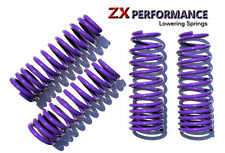 "ZX Purple Lowering Springs 2.0""F/2.0""R for 99-04 Jetta Golf 4 IV"