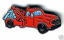 Automotive collectibles: 1950's style tow truck tac-style pin