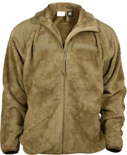 Coyote Brown ECWCS Polar Fleece Gen III Level 3 Jacket Rothco 9734 Large