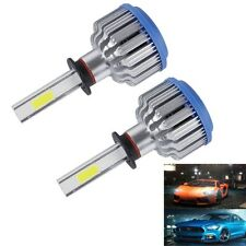 2 PCS H3 24W 2600lm 6000K Car LED Headlight with 2 COB Lamps, DC 9-36V(White Lig