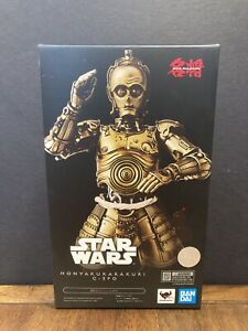 STAR WARS MEISHO MOVIE REALIZATION TRANSLATION MACHINE C-3PO Figure US Seller