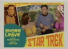 Star Trek TOS Captains Collection Lobby Chase Card #15 Shore Leave