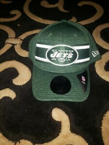 New York Jets New Era 2019 Sideline Official Hat Size M/L NFL NWT Green