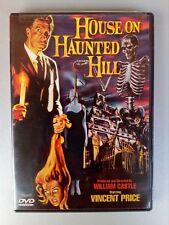 dvd HOUSE ON HAUNTED HILL william castle VINCENT PRICE HORROR originale ottimo!!