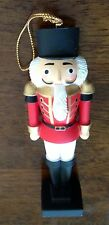Vintage Holiday Memories Collector Nutcracker Ornament, Christmas Decorations