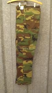 Vtg Ranger Erdl Camo 6 Pocket Cargo Pants Youth/Kids 12 USA MAde 26x25