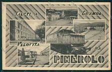 Torino Pinerolo Saluti a Grande Velocità Treno cartolina EE7129
