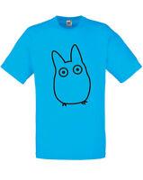 Chibi Totoro My Neighbor Totoro inspired Mens Printed T-Shirt Slim Fit Sale Tee