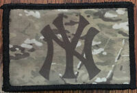 New York Yankees Logo Multicam Morale Patch Baseball Tactical Military Army Flag