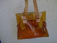 sac besace plage Dior  plastique transparent