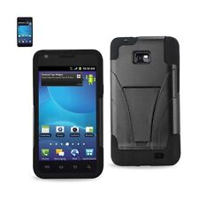For Samsung Galaxy S2 Case Hybrid Heavy Duty Protective Cover w/ Kicks