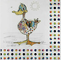 5 Napkins Bug Art Kooks Dotty Duck Napkin Craft Decoupage Tissue Paper