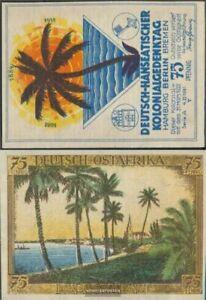 Berlin Notgeld: 88.1 Picture 5 German-Eastern Africa Notgeld of German.-Hanseati
