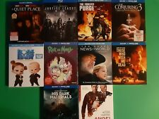 New Release Blu Ray Lot The Forever Purge,Justice League,A Quiet Place 2,News Of
