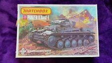 MATCHBOX 1:76 Panzer II Ausf. F German Medium Tank Model Kit PK-81 * BNISB *