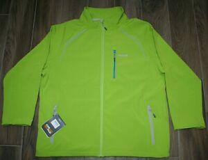 3XL Regatta Conlan Homme Softshell Veste Vert//Noir SMALL