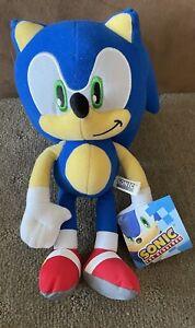 Genuine Sega Sonic The Hedgehog - Sonic Plush - 30cm - Soft Toy Licensed BNWT