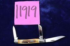 Vintage Case XX Stockmon 3 Blade V53087 SS Pocket Knife