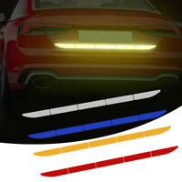Car Reflective Warn Strip Tape Bumper Safety Stickers Decal Paster Accessories