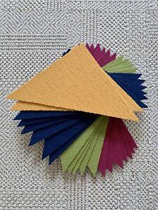 Flor Tile Made You Look Magenta Marigold Cobalt Kiwi Triangles PITTSBURGH PICKUP