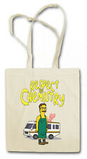CHEMISTRY COMIC COTTON BAG - Jutebeutel Stoffbeutel - Breaking Walter Bad White