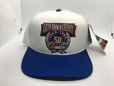 50th Anniversary Nascar 1948 to 1998 Hat Cap White Adult New Snapback NWT