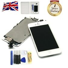 iPhone 5 White LCD Digitizer Assembly Screen Replacement+Camera+Home Button New