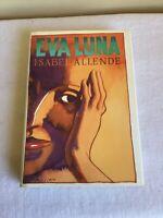 Vintage 1988 Hardcover Dust Jacket Eva Luna Isabel Allende Alfred A Knopf USA